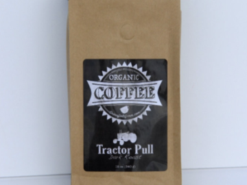 Selling Without Online Payment: 12oz Organic Coffee | Tractor Pull (Dark Roast)