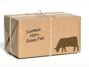 Selling Without Online Payment: 100% Grass-Fed Ground Beef Box (Bulk Discount)