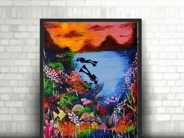 Sell Artworks: Aquatic