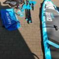 Vermieten Equipment/Ausrüsstung mit eigener Preiseinheit (Kein Verfügbarkeitskalender): 3 tage Fr-So Tandem SUP-Board; Bluefin 15` 2-3 Personen Tragkraft