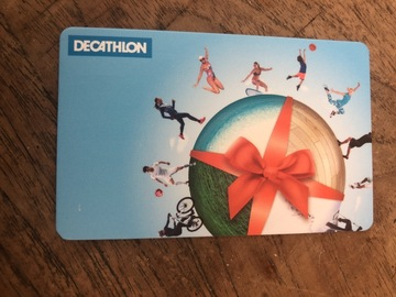 Vente: Carte cadeau Décathlon (500€)