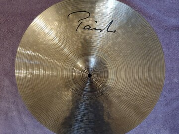 """Selling with online payment: Paiste Dark Energy Mark I 18"""" Crash Cymbal"""