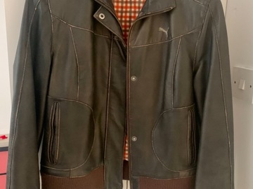 Selling without online payment: Leather jacket