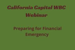 Announcement: Preparing for Financial Emergency