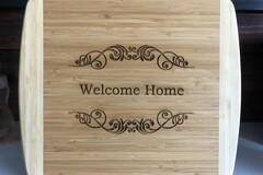 Selling with online payment: Two-Tone Bamboo Cutting Board