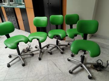 Gebruikte apparatuur: Tandartsstoeltjes 5 suk