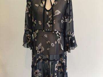 Selling: Navy Shift Dress- Size Small