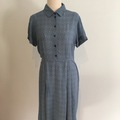 Selling: Pale blue denim colour high waist dress