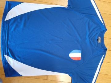 Vente: T-shirt de foot équipe de France (L)