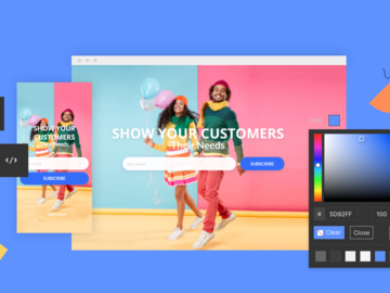 Pay per project: Create a Landing Page for your product