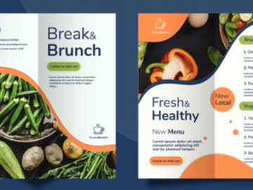 Pay per project: Design/Redesign your brochure