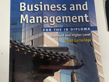 Selling with online payment: Business and management IB study guides