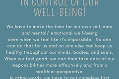 Workshops & Events (Per event pricing): Creating A Self-Care Habit & Putting Ourselves First