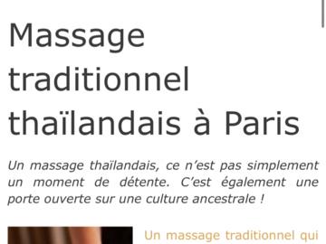 """Vente: Coupon Groupon """"Modelage thaï en duo"""" sur Paris (138€)"""