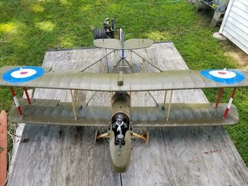 Selling: Airco DH-2 Biplane