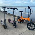 Hourly Rate: Foldable E-Bike - Perfect for touring the Bay
