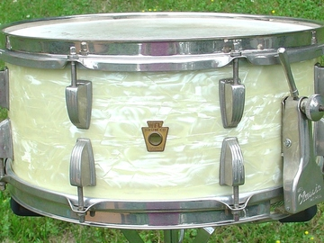 Selling with online payment: SOLD- 1950s WFL 6 1/2 x 14 WMP Ray McKinley model snare drum