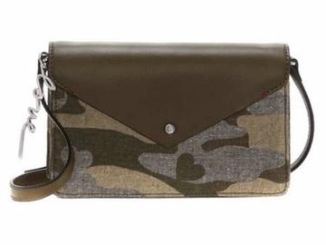 Liquidation/Wholesale Lot: Lot of 10 New in package Camo Ellen DeGeneres Lyon Crossbody bags