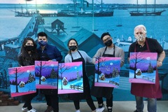 Events priced per-person: Social Painting Experience - In-Person
