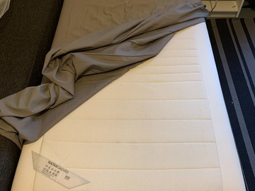 Selling: a single bed with a matress
