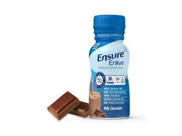 SALE: Ensure Enlive Chocolate 235 mL Nutritional Shake | Case of 24