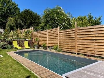 NOS JARDINS A LOUER: Jardin tropical avec piscine et toit terrasse aux portes de Paris