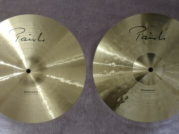 Selling with online payment: Paiste Dimensions Thin-Heavy Hi Hats