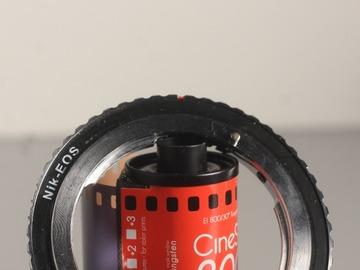 Vermieten: Nikon F-Mount to Canon EF-Mount Adapter