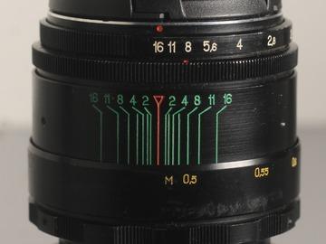 Vermieten: Helios 44-2 58mm f/2.0 - m42 mount