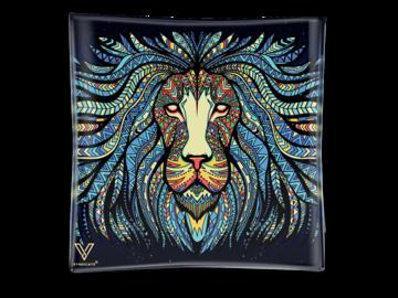 Post Now: Tribal Lion Blazin' Ashtray Glass