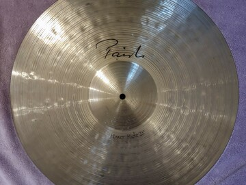 """Selling with online payment: Paiste Signature 21"""" Power Ride Cymbal"""