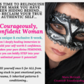 Appointments/Consultations - direct bookings: COURAGEOUSLY CONFIDENT WOMAN!! - deep dive analysis