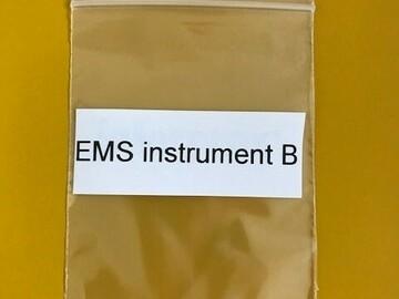 Gebruikte apparatuur: EMS instrument B