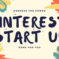 Offering online services: Fresh Start Pinterest Package