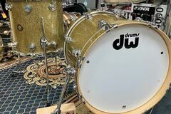 Selling with online payment: DW Jazz Series Gold Glass Bop Kit. 10,14,18, Free Shipping