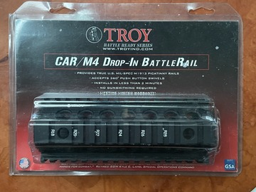 Selling: Troy Industries Drop in Rail for M4