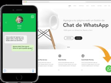 Servicio freelance: Instalar chat por WhatsApp a tu página web