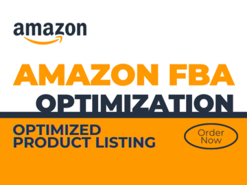 Pay per hour: Create an Optimized Product Listing for your Amazon FBA Store