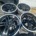 """Selling: Very rare 19"""" staggered Forgiato Estremo wheels"""