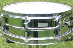 Selling with online payment: SOLD- 1970s SONOR model D454 5x14 Ferromaganese steel snare drum