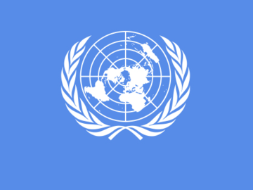 Renting out with online payment: United Nations Flag