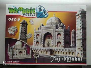 Vente avec paiement en ligne: Puzzle 3d Wrebbit Taj Mahal