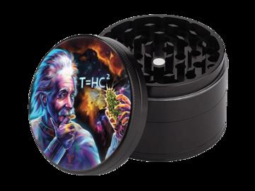 Post Now: T=HC2 Einstein Black Hole 4-Piece CleanCut Grinder (Nonstick)