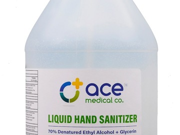 Sell your product: SaferHands USA Gallon Hand Sanitizer Jug w/ Pump