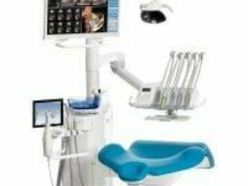 Gebruikte apparatuur: Planmeca Compact i Touch behandelunit met droge afzuiging
