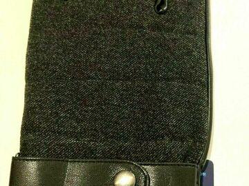 Liquidation/Wholesale Lot: Isotoner Men's Gloves Black XL New 5 Pair per Lot