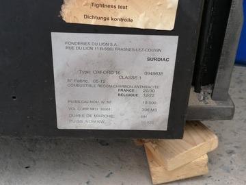 À vendre: Poêle bois charbon