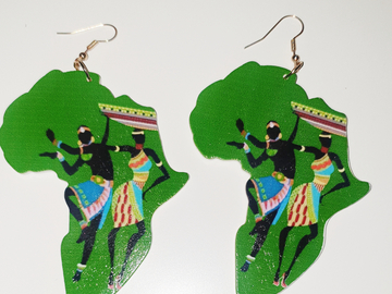 For Sale: Mama Africa Earrings