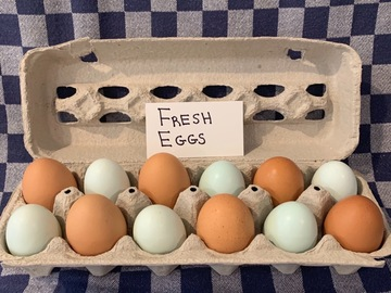 Selling Without Online Payment: Fresh Eggs