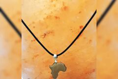 For Sale: Africa charmed necklace